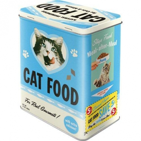 Plåtburk Kattmat 'Cat Food'