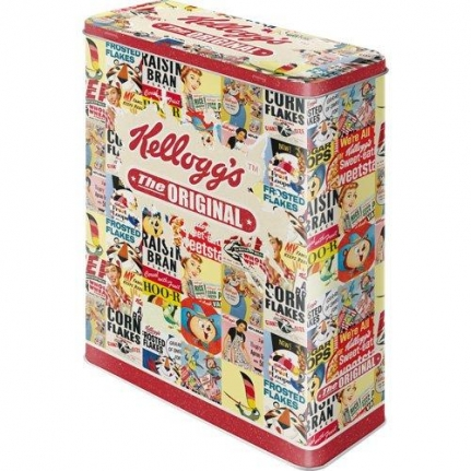 Plåtburk Flingor 'Kelloggs The Original'