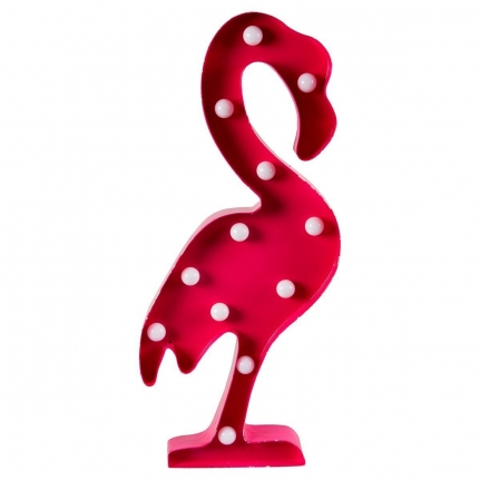 Flamingo Led Lampa 50 CM