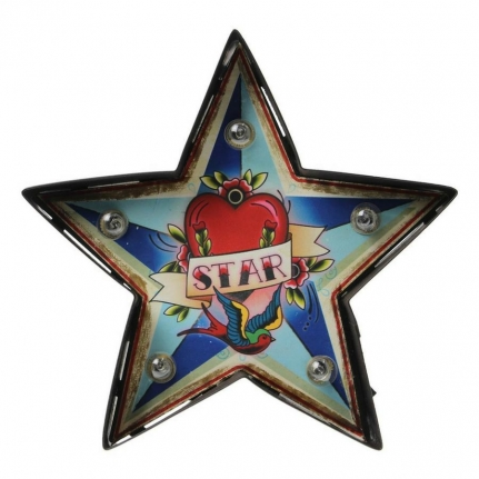 Led-skylt Karneval STAR