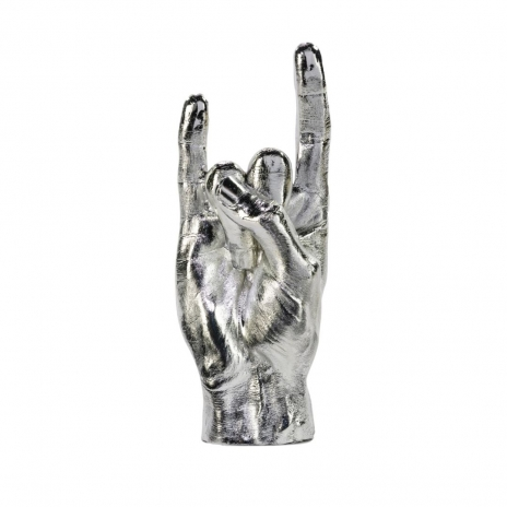Rock On Dekoration Silver