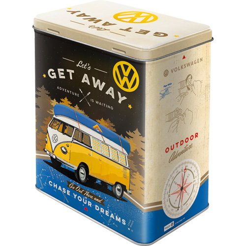 Plåtburk VW 'Let's Get Away!'