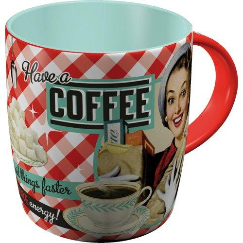 Mugg Retro 'Have A Coffee'