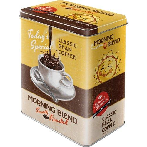 Plåtburk Kaffeburk 'Coffee Morning Blend'