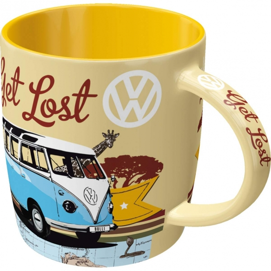 Mugg Retro VW 'Let's Get Lost'
