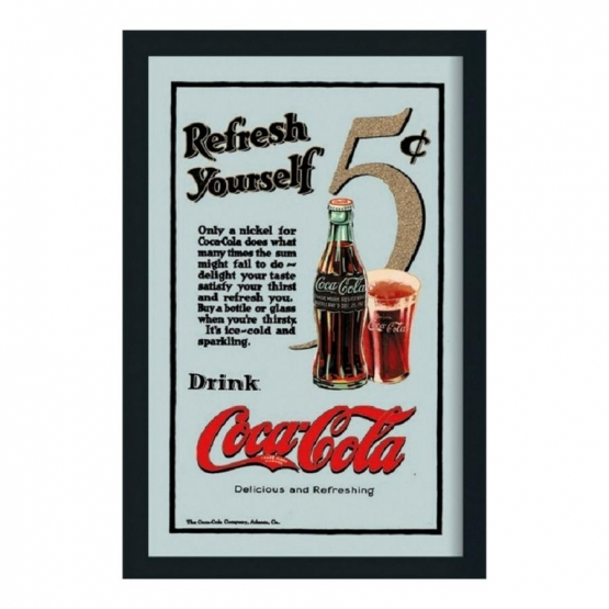 Barspegel Coca-Cola 'Refresh Yourself'