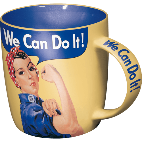 Mugg Retro 'We Can Do It!'